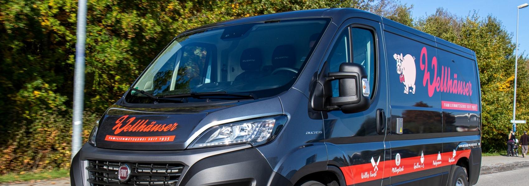 Neuer Lieferwagen - Neues Design